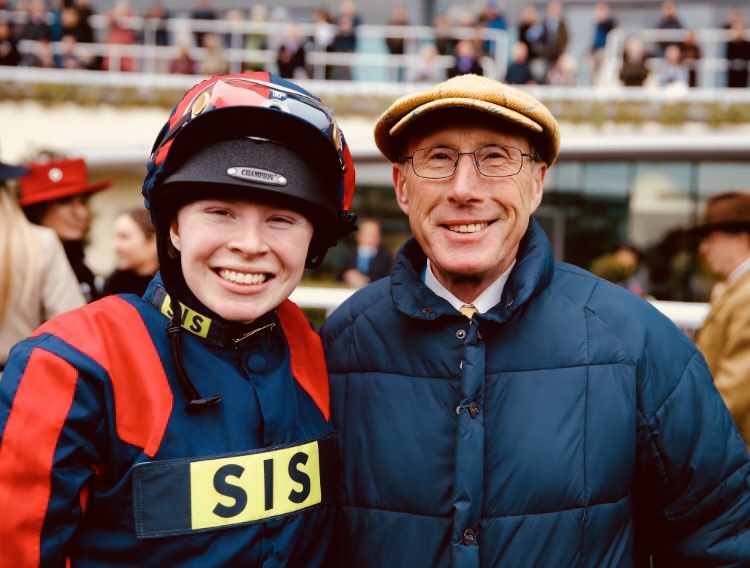 Rosie and George Margarson at Ascot